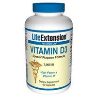 Life Extension Vitamin D3 | 7,000 IU 60 capsules ( Multi-Pack)