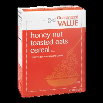 Guaranteed Value Honey Nut Toasted Oats Cereal