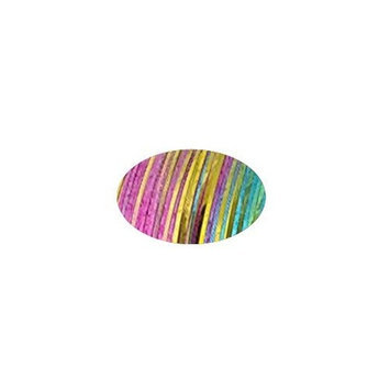 Piz-zaz Rainbow Hologram Hair Extension Shimmer Tinsel adds bling and glitz to your hair for up to 3 months + Hairart Brilliance Pin Tail Comb for easy styling