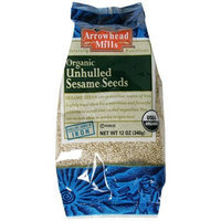 Arrowhead Mills Organic Unhulled Sesame Seeds, 12-Ounce Unit (Pack of 6)