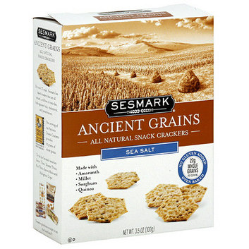 Sesmark Sea Salt Ancient Grains Crackers