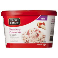 market pantry Market Pantry Strawberry Cheesecake Ice Cream 1.5-qt.