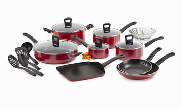 T-fal Corporation T-fal 18 Piece Non Stick Cookware Set - T-FAL CORPORATION