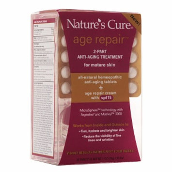 Nature's Cure Age Repair 2-Part Anti-Aging Treatment For Mature Skin