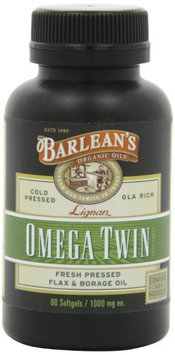 Barleans Omega Twin Capsules 1000mg Barlean's 60 Caps