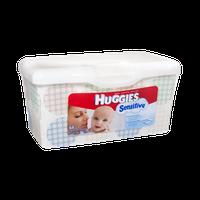 Huggies Sensitive Thick 'n' Clean Baby Wipes - 64 CT
