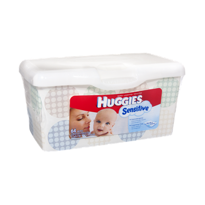 Huggies® Sensitive Thick 'n' Clean Baby Wipes