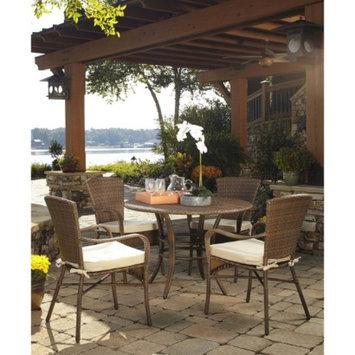 Panama Jack Key Biscanye 5-Piece Wicker Patio Dining Furniture Set