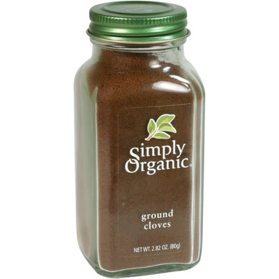 Simply Organic Certified Organic Cloves Ground