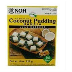 Noh Foods Of Hawaii B88188 Noh Of Hawaii Hawaiian Coconut Pudding -6x4oz