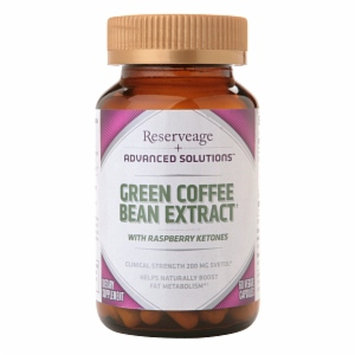 ReserveAge Advanced Solutions Green Coffee Bean Extract with Raspberry Ketones