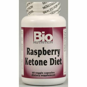 Bio Nutrition Raspberry Ketone Diet 60 Veggie Capsules
