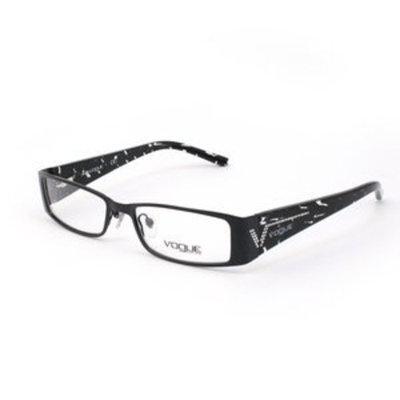 Vogue VO3660B Eyeglasses-352 Gloss Black-51mm