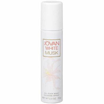 Jovan All-Over White Musk Cologne Body Spray