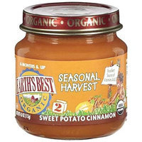 Earth's Best Organic Seasonal Harvest Baby Food, Sweet Potato Cinnamon, 4 Ounce (Pack of 12)
