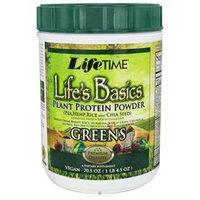 Life Time Life Basic Plant Protein Greens Powder LifeTime 20.5 oz Powder