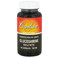 Carlson Labs - Glucosamine Sulfate 750 mg. - 60 Capsules