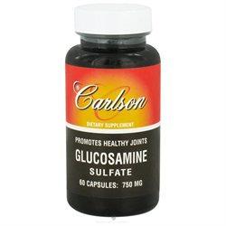 Carlson Labs - Glucosamine Sulfate 750 mg. - 60 Capsules