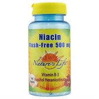 Nature's Life - Flush-Free Niacin 500 mg. - 100 Tablets