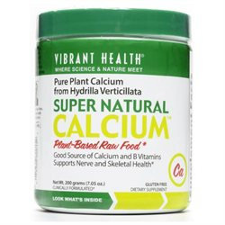 Vibrant Health Super Natural Calcium, Hydrilla Verticillata