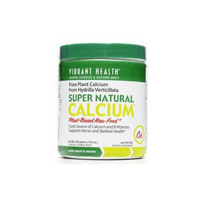 Vibrant Health Super Natural Calcium, Hydrilla Verticillata