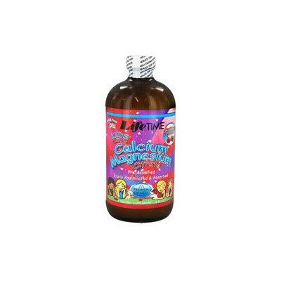 Lifetime Kids' Liquid Calcium Magnesium Citrate Cherry - 16 fl oz