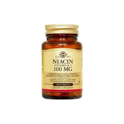 Solgar - Niacin Vitamin B3 100 mg. - 100 Tablets