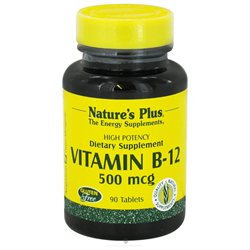 Nature's Plus - Vitamin B-12 500 mcg. - 90 Tablets