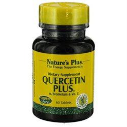 Nature's Plus - Quercetin Plus with Vitamin C & Bromelain - 60 Capsules