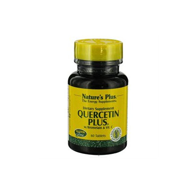 Nature's Plus - Quercetin Plus with Vitamin C & Bromelain - 60 Capsules