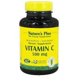 Nature's Plus - Vitamin C 500 mg. - 90 Vegetarian Capsules