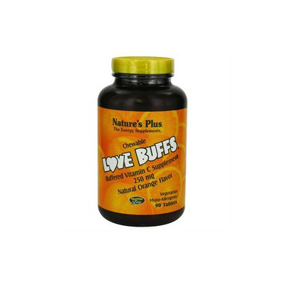 Nature's Plus - Chewable Love Buffs Orange, 90 chewable tablets [Misc.]