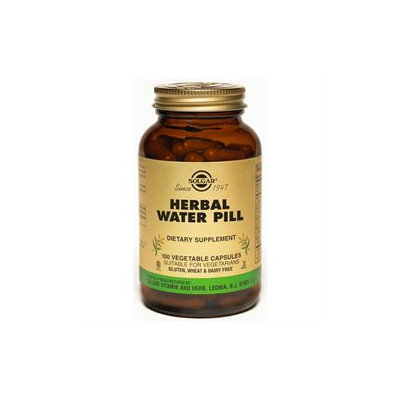 Solgar Natural Herbal Diuretic - 100 Vegetable Capsules