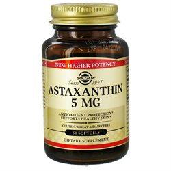 Solgar - Astaxanthin Complex 5 mg. - 60 Softgels