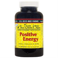 YS Royal Jelly/Honey Bee - Positive Energy, 75 capsules