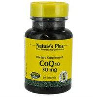 Nature's Plus - CoQ10 30 mg. - 30 Softgels