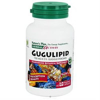 Nature's Plus - Herbal Actives Gugulipid 750 mg. - 60 Vegetarian Capsules