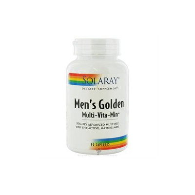 Solaray - Men's Golden Multi-Vita-Min - 90 Capsules