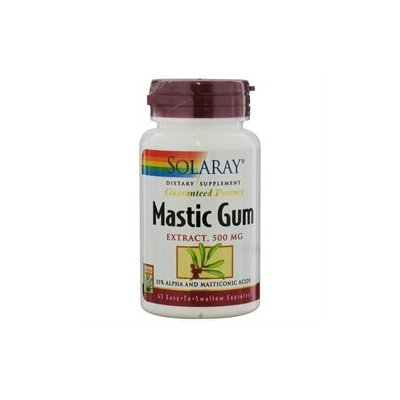 Solaray Mastic Gum Extract - 500 mg - 45 Capsules