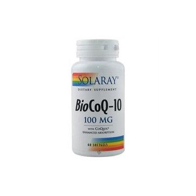 Solaray - Bio CoQ-10 100 mg. - 60 Softgels