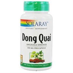 Solaray Dong Quai - 550 mg - 100 Capsules