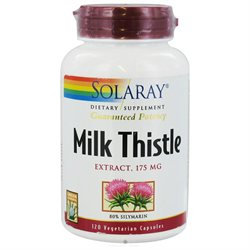 Solaray Milk Thistle Extract - 175 mg