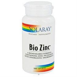 Solaray - Bio Zinc, 100 capsules [Health and Beauty]