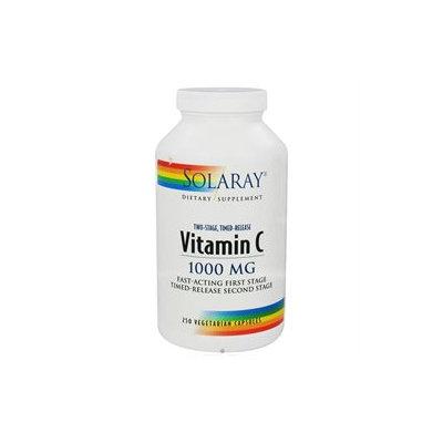 Solaray Vitamin C - 1000 mg - 250 Capsules