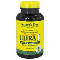 Nature's Plus Iron-Free Ultra I Multi-Nutrient Formula - 90 Tablets