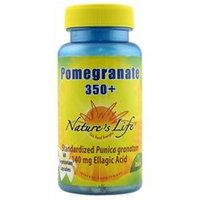 Nature's Life Pomegranate 350 plus - 60 Vegetarian Capsules