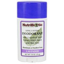 NutriBiotic Deodorant Stick Lavender - 2.6 oz