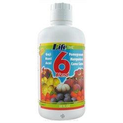 LifeTime Vitamins - 6 Blend Fruit Juice - 32 oz.