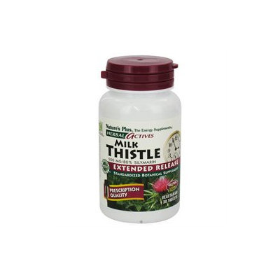 tures Plus Nature's Plus - Herbal Actives Milk Thistle 250 mg