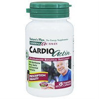 Nature's Plus Cardionactin Ha - 60 Capsules - Cardiovascular Support Herbs